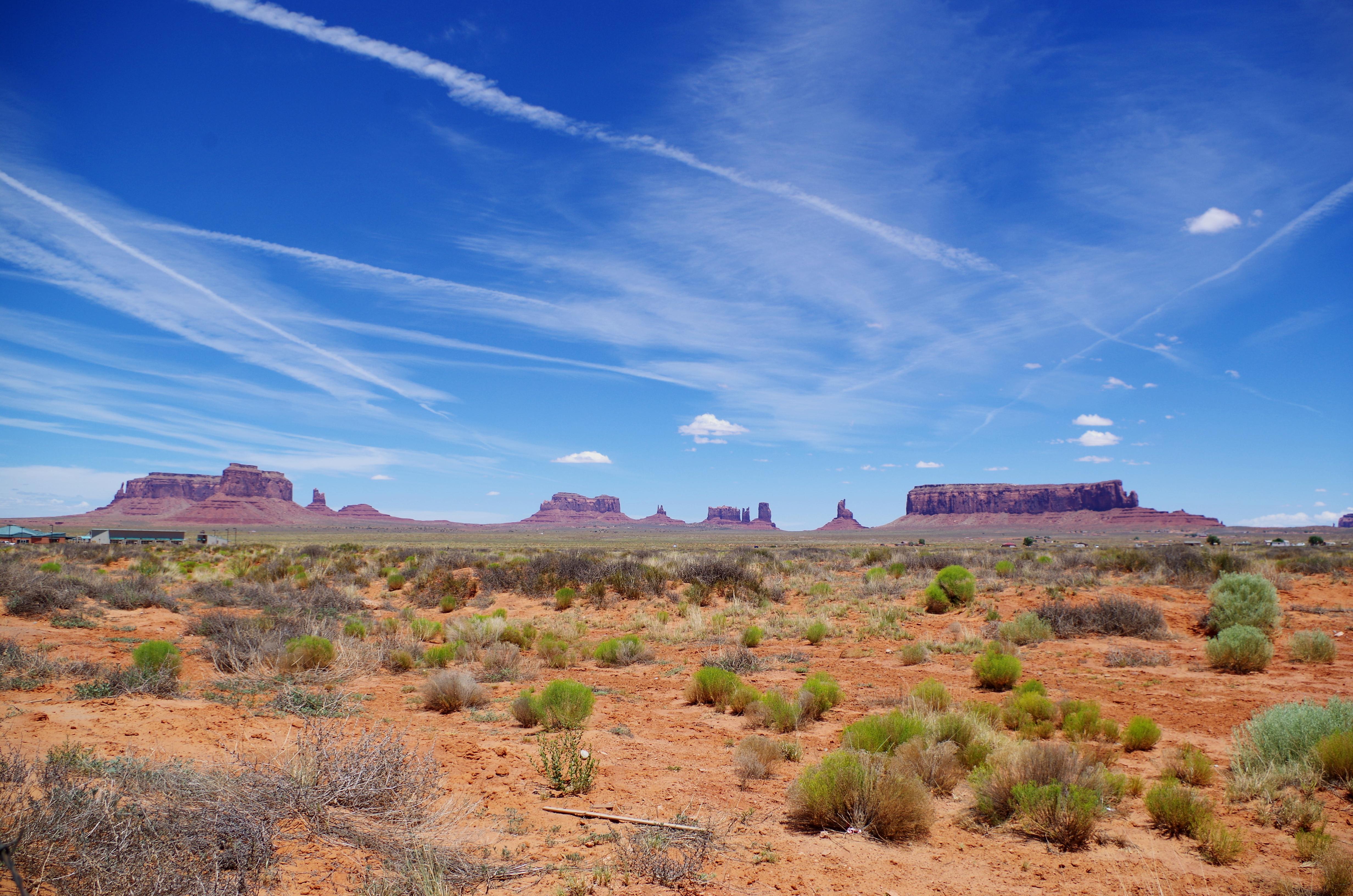 Auf dem Weg zum Monument Valley bieten sich Euch bereits wunderschöne Landschaften