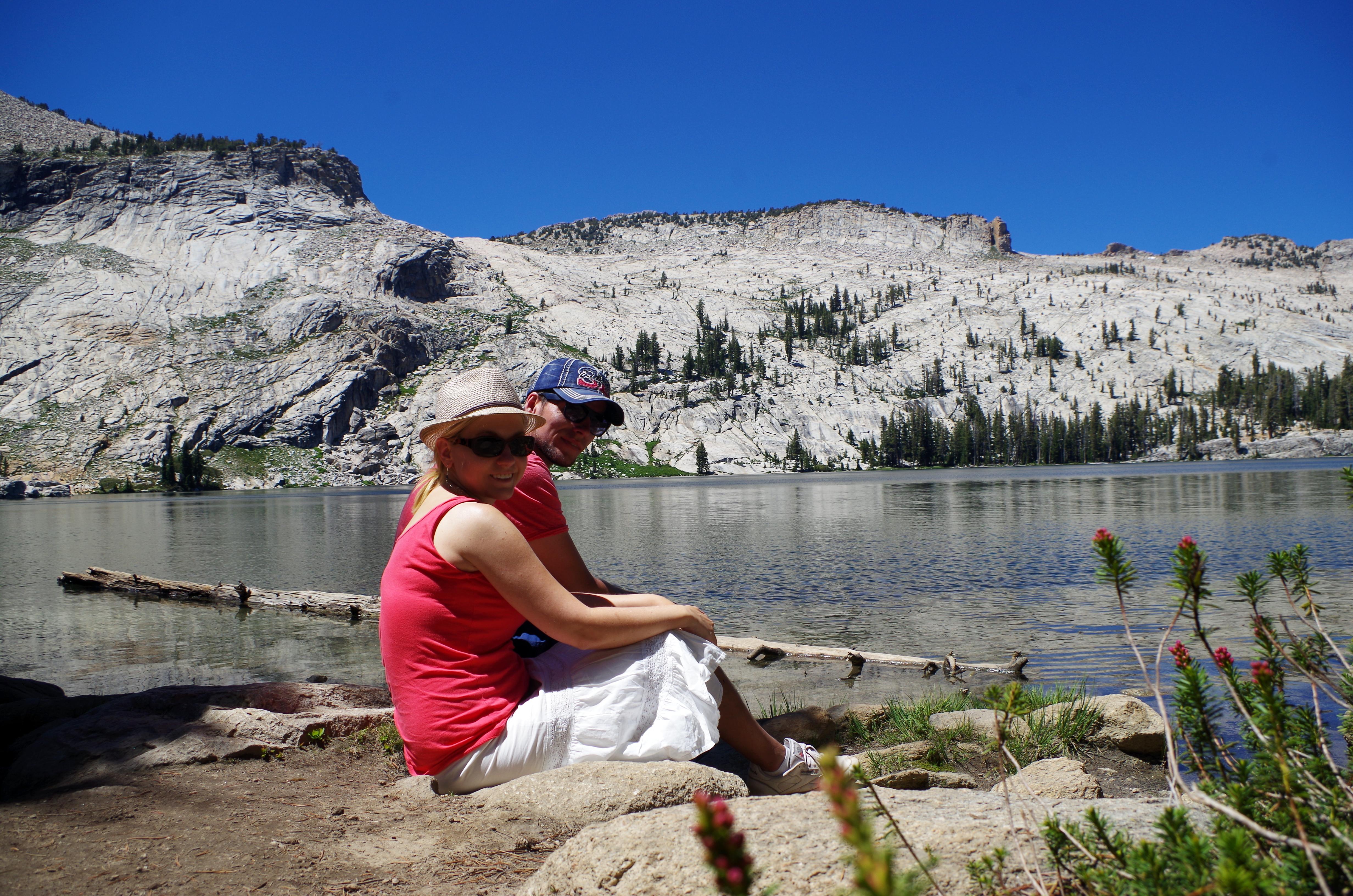 Die Trails im Yosemite Nationalpark sind so zahlreich, dass ihr oft für Euch alleine seid und an tolle Bergseen gelangt