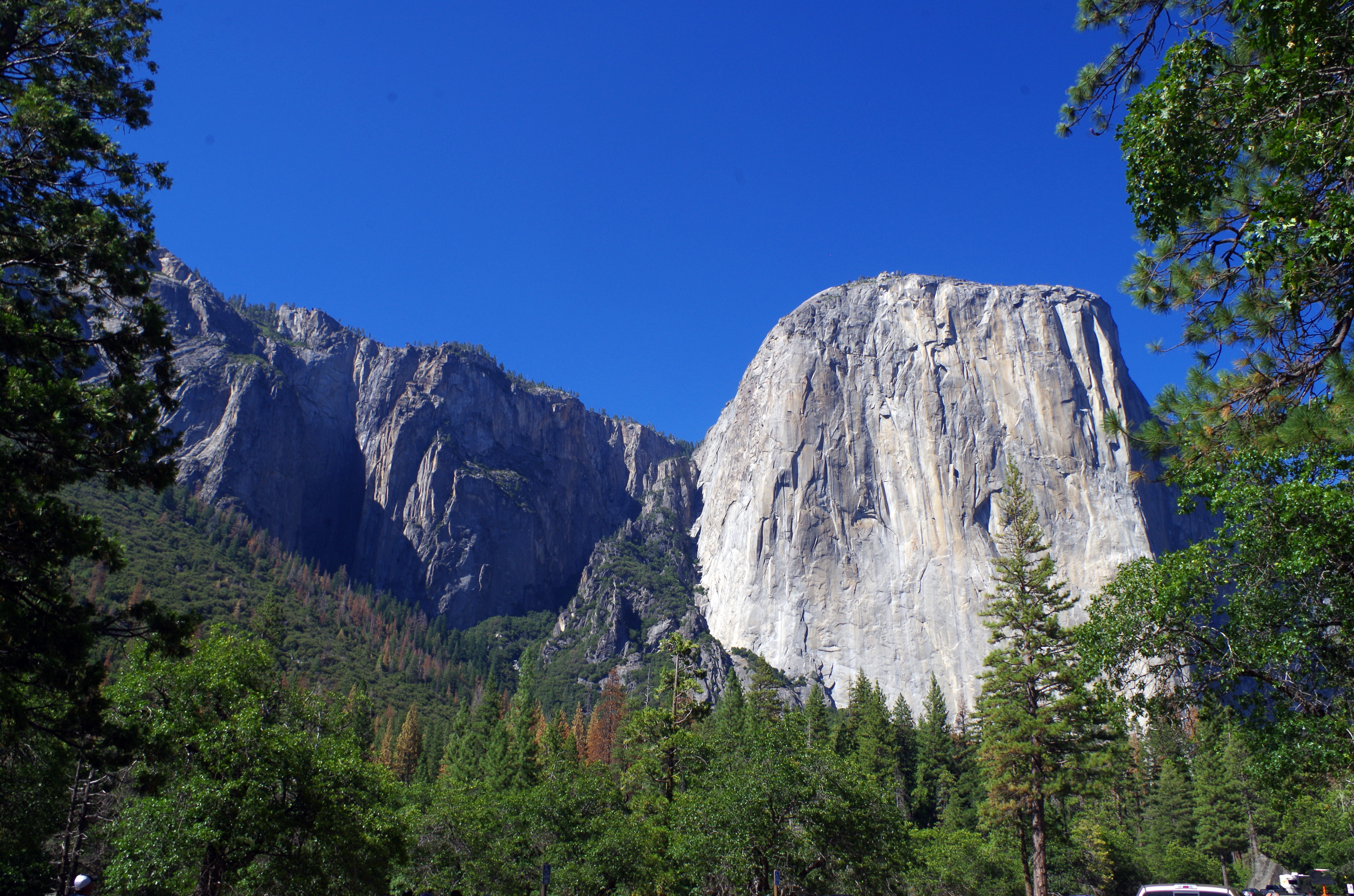 "Der berühmte Gipfel ""El Capitan"" im Yosemite Nationalpark"