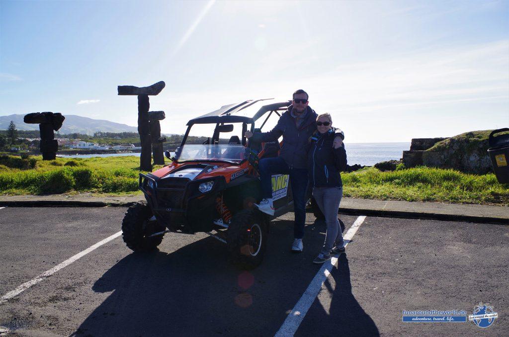 Erkundung von Sao Miguel mit ANC Azores Buggy Tour