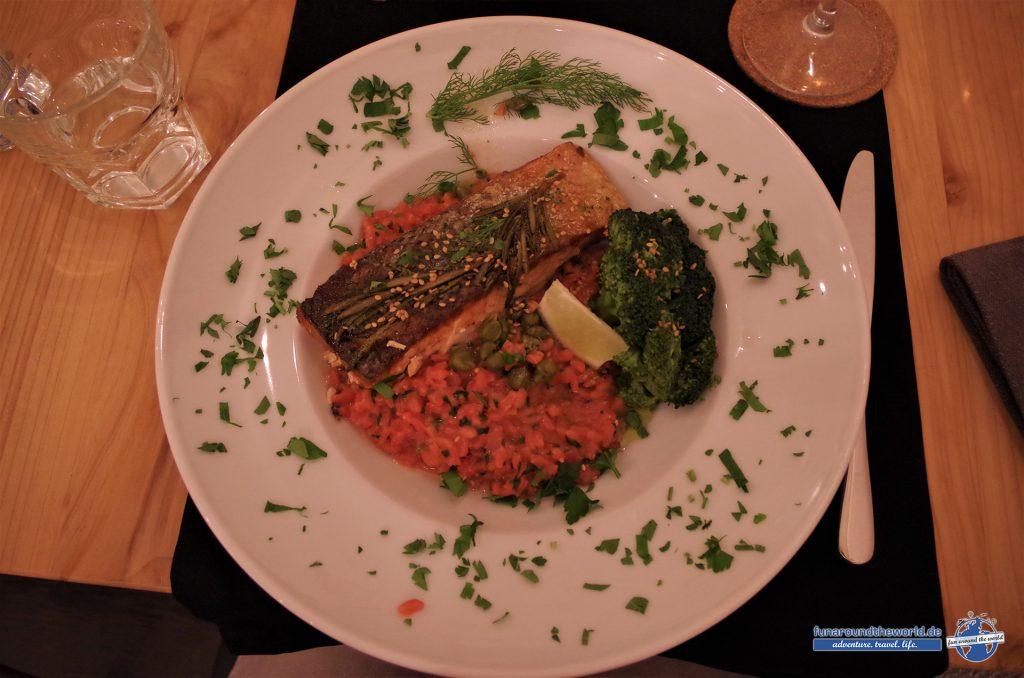 Dinner im Big 21 in der Hauptstadt von Sao Miguel: Ponta Delgada