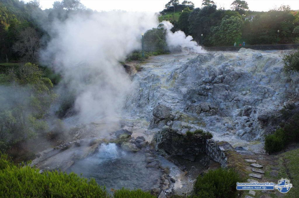 Geothermal-Quellen in Furnas