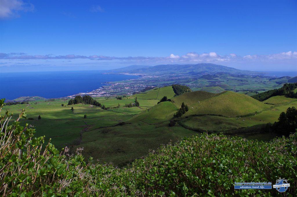 Sonniger Himmel über den Azoren ist nicht immer selbstverständlich