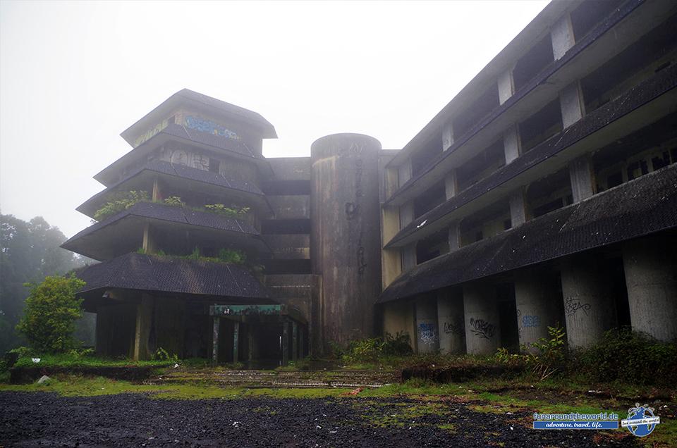 Verlassenes Hotel Monte Palace