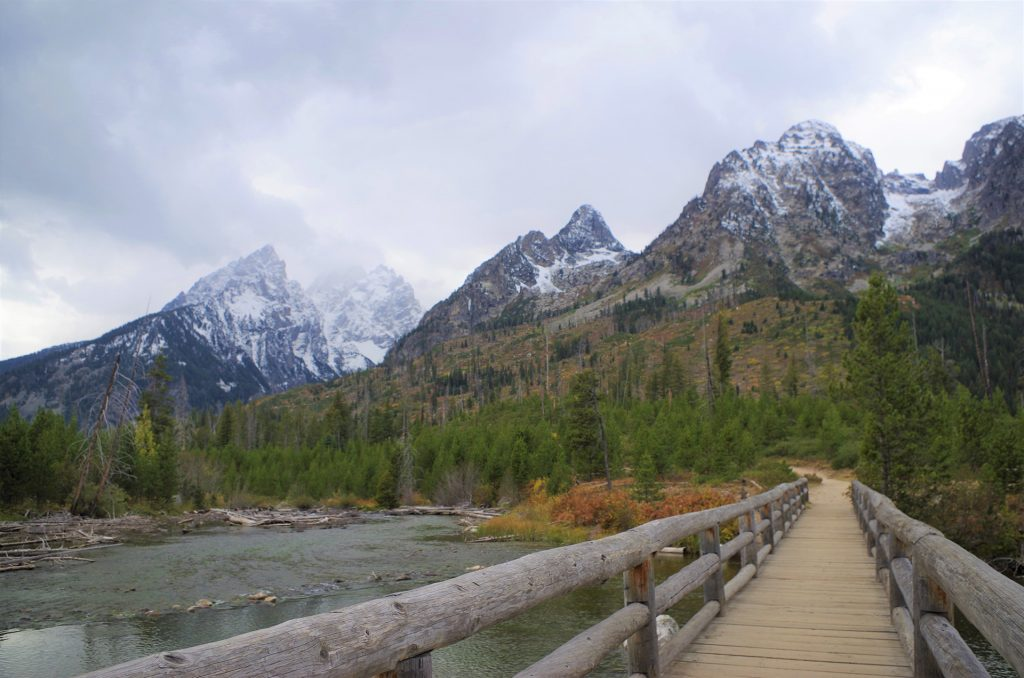 Jenny Lake Loop Trail im Grand Teton Nationalpark, Wyoming