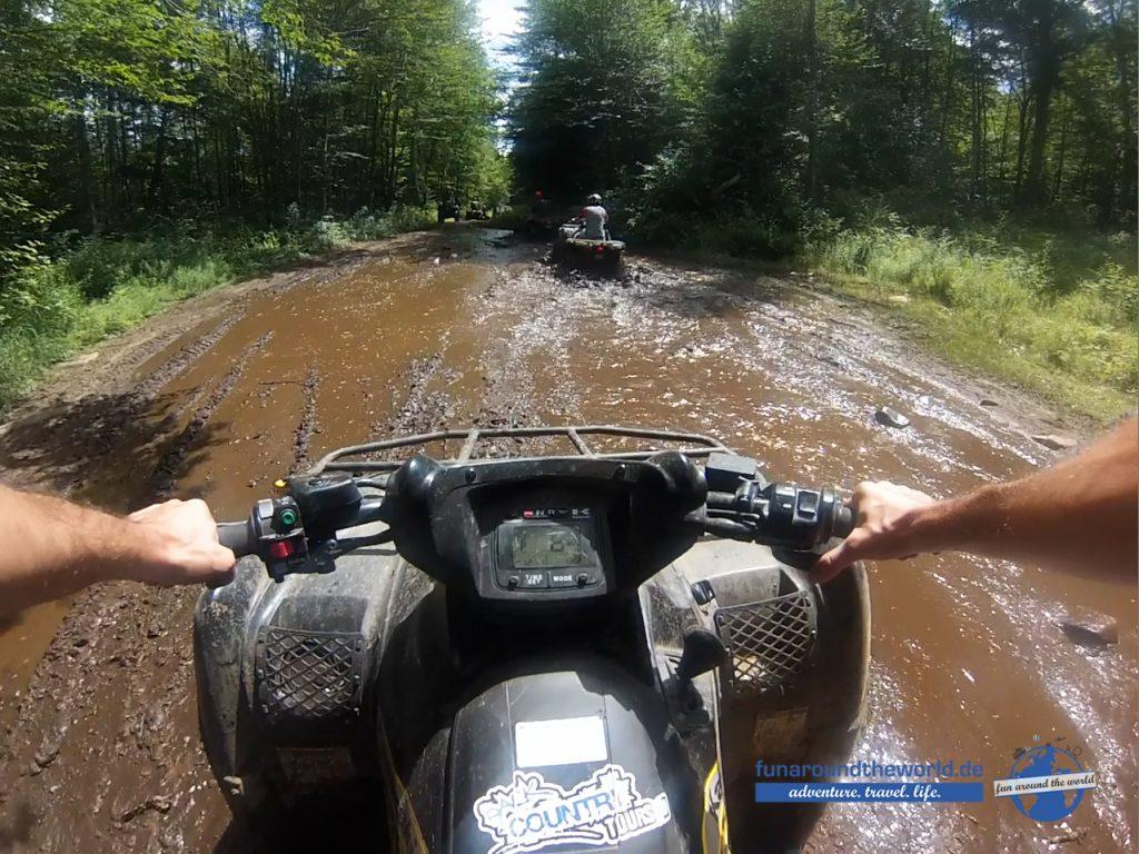fun around Backcountry Tours Ontario