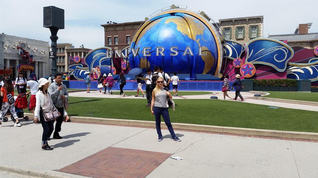 fun around Universal Studios Osaka, Japan