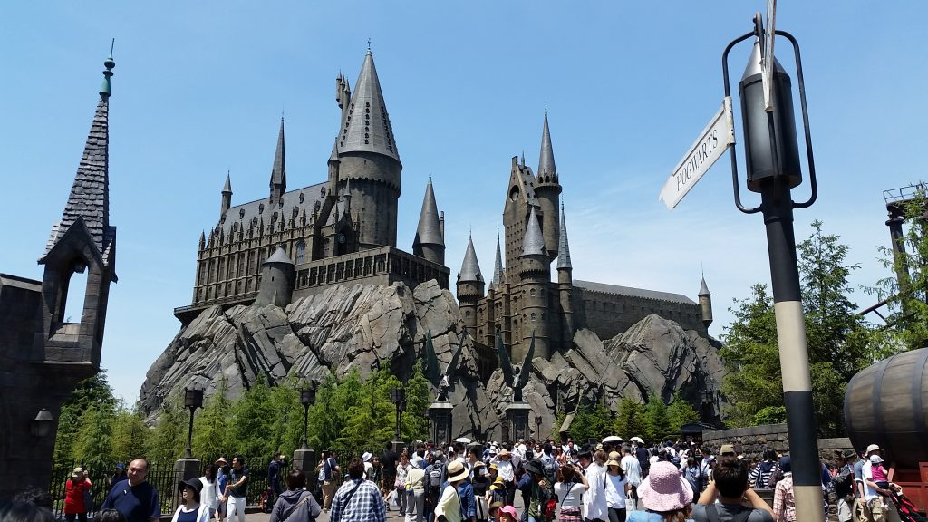 fun around Wizarding World Harry Potter, Universal Studios Osaka