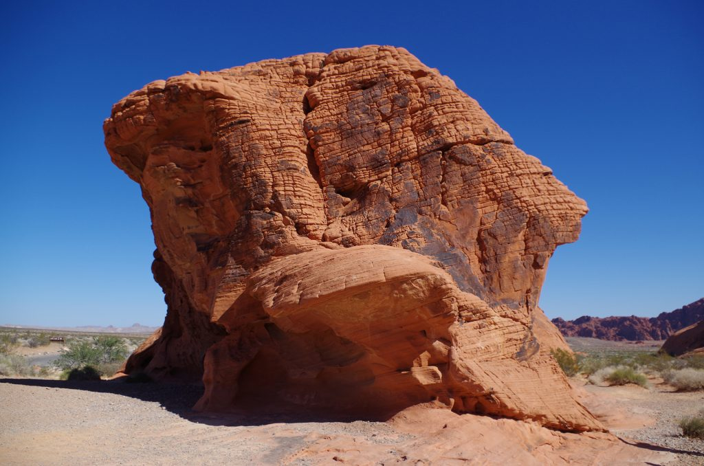 Arch Rock im Valley of Fire State Park
